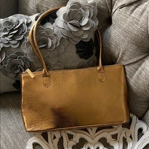 HOBO Metallic Copper Purse Handbag NEW